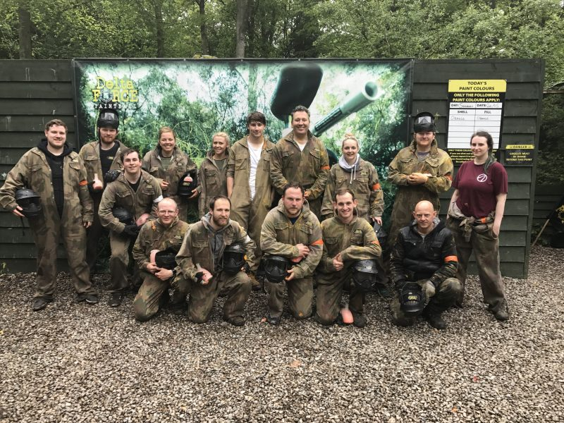 Paintballing Adventure