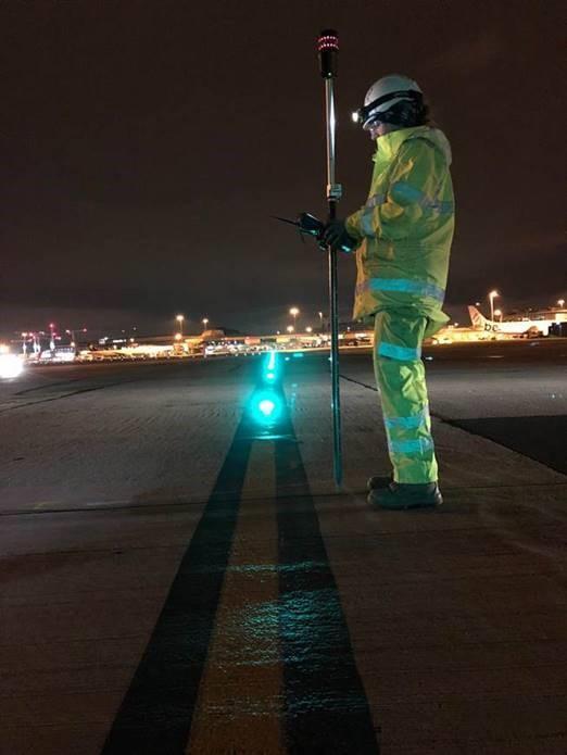 PAS 128 Surveys on Manchester Airport