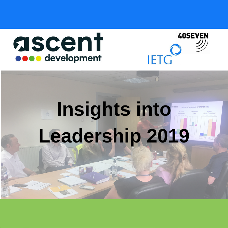 10 months of Insights into Leadership